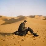 en el desierto