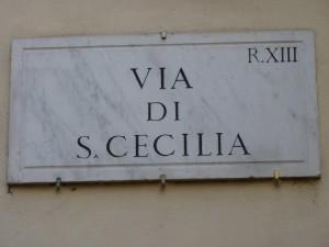Santa Cecilia in Trastevere dans Musique p1120682-300x225