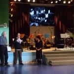 Giancarlo Schiaffini und Silvia Schiavoni erklären ihr Projekt