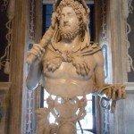 Portrait des Comodius als Herkules-Kapitolinische Museen Rom