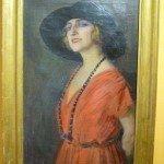 ritratto di Pina Menichelli - 1920 - Privatsammlung