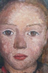 Detail Ausstellungsplakat - Paula Modersohn-Becker