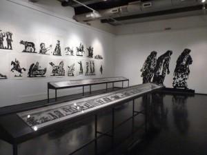 Minuaturmauer im Museum