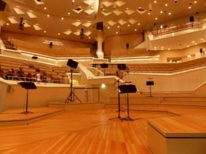 kammermusiksaal mit Notenständern