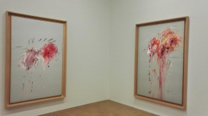 Twombly - Saalansicht; Bilder aus dem Zyklus  Nine Discourses on Commodus - Foto (c) JNPettit