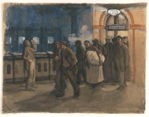 kollwitz-arbeiter-vom-bahnhof-kommend